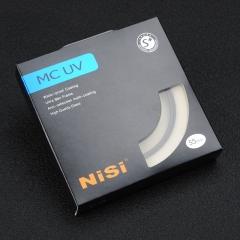 耐司(NiSi)MC UV 55mm UV镜 双面多层镀膜无暗角 单反uv镜 保护镜 单反滤镜 滤光镜 佳能尼康相机滤镜