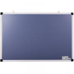 得力(deli) 90*60cm磁性办公教学会议挂式白板悬挂写字板黑板 92608