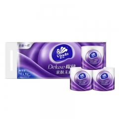 维达(Vinda) 卷纸  棉韧立体美4层150克*10卷 卫生卷筒纸 纸巾 母婴可用 亲肤无刺激  呵护肌肤
