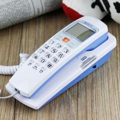 美思奇(MSQ)电话机座机 固定电话 办公家用 可壁挂 来电指示灯 1005白色