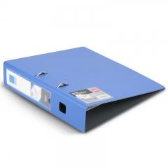 得力(deli)时尚全新工艺加厚PP材质3寸快劳夹 A4单只装 蓝色