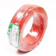 江北 ZR-BVR 1×16平方毫米 阻燃铜芯聚氯乙烯绝缘电线 红 100米/盘