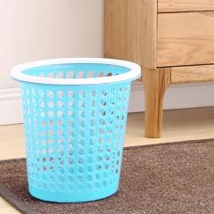 艺姿家用大号软塑干湿分类压圈垃圾桶圆形纸篓垃圾筒YZ-GB105