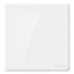公牛(BULL) 开关插座 G28系列 空白面板白板  86型面板G28B101 珍珠白 暗装