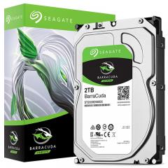希捷(Seagate)2TB 256MB 5400RPM 台式机机械硬盘 SATA接口 希捷酷鱼BarraCuda系列(ST2000DM005)