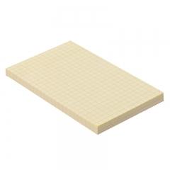 齐心(COMIX)24本装80张(76x125mm)方格便利贴/便签纸/便签本/易事贴 D6023