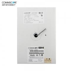 康普 安普网联 原装超五类网线(0.51±0.02mm)非屏蔽网线箱线 白箱 外径5.1mm 305米 6-219507-4