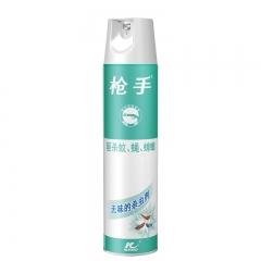 枪手 杀虫气雾剂 无味 400毫升 杀虫剂 喷雾 杀虫水 除虫剂