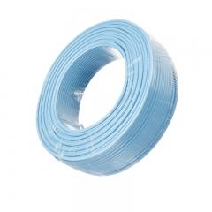 金山(JINSHAN)国标单芯塑铜线 硬线 电线 电缆 BV4平方 蓝100M/盘