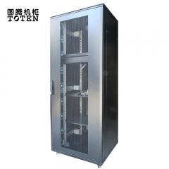 图腾(TOTEN)G3.8937 带配件 网络机柜 服务器机柜 交换机机柜 双开网孔门 机柜37U 深度900