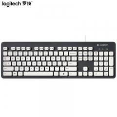 罗技(Logitech)K310 键盘 有线键盘 办公键盘 女性 防水键盘 全尺寸 黑色
