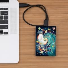 希捷(Seagate)2TB USB3.0 移动硬盘2tb Backup Plus 铭 2.5英寸外置 定制 兼容mac 高速传输 轻薄 锦鲤