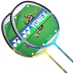 YONEX尤尼克斯羽毛球拍yy情侣对拍ISOlite3羽拍已穿线黄蓝二支