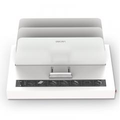 得力(deli)3882热熔财务装订机 合同标书档案文件胶装机(装订厚度50mm)