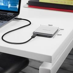 希捷(Seagate) 500GB Type-C 移动硬盘 固态 飞翼 PSSD 轻薄便携 迷你 高达540MB/500MB/秒 高速传输