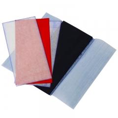得力(deli)48K经济耐用薄型复写纸(18.5*8.5cm) 100张/盒 蓝