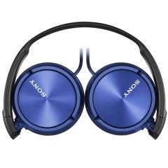 索尼(SONY)MDR-ZX310 头戴式立体声耳机 监听耳机 蓝色