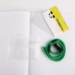 日本国誉(KOKUYO)Campus Kids儿童学生ID卡证件卡软壳胸卡挂牌吊牌56*91mm 熊猫WSG-NFK21-2