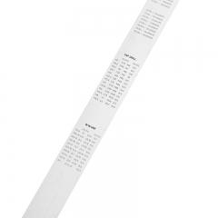 得力(deli) 不锈钢直尺刻度尺公制刻度绘图钢尺100cm DL8100