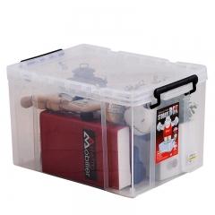 禧天龙Citylong 塑料收纳箱小号透明抗压加厚食品级材质整理箱玩具储物箱20L 6069