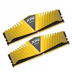 威刚(ADATA)DDR4 3200 16GB (8GBx2)套装 台式机内存 XPG-Z1 游戏威龙(金色)