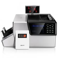 得力(deli)A类银行专用多功能智能点钞机 10重鉴伪人民币验钞机 2126