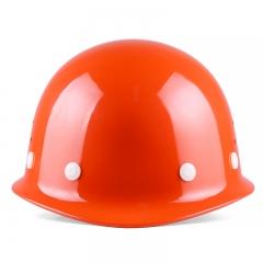 星工(XINGGONG)透气款安全帽工程工地建筑施工劳保防砸领导电工安全头盔 橙色