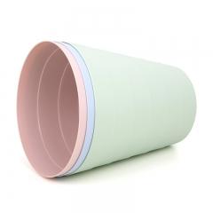 vivian 中号竹节形垃圾桶 办公家用纸篓 WWA-1104