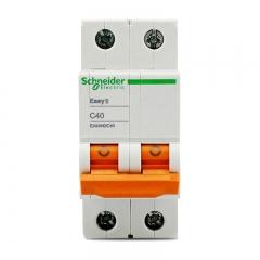 施耐德电气(Schneider Electric)家用微型断路器空气开关 双进双出 家用总闸 2PC40A EA9系列EA9AN2C40R