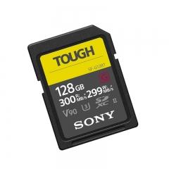 索尼(SONY)SF-G128T/T1 SF-G 系列128g TOUGH规格SD卡读取300MB/S写入299MB/S