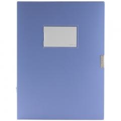 金得利(KINARY)DC-55 55mm加厚型档案盒文件资料盒A4 蓝色