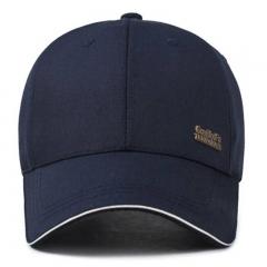 GLO-STORY 棒球帽 男士户外运动遮阳帽韩版百搭鸭舌帽 MMZ814107 深蓝色