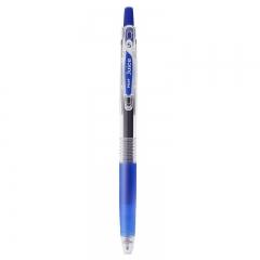 日本百乐(PILOT)JUICE彩色按动中性笔啫喱笔手账笔果汁笔 蓝色 0.5mm 单支装 LJU-10EF-L原装进口