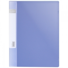 得力(deli) 5106 ABA系列A4/60页资料册 蓝色 单只装