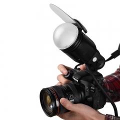神牛(Godox)v1 v860II机顶闪光灯ad200外拍灯 圆形灯头附件套装AK-R1