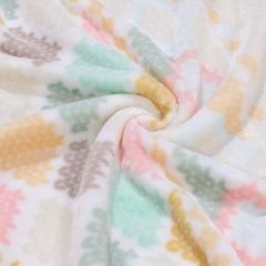 馨而乐 毯子 双人秋冬空调房毛毯被 办公室沙发午睡薄盖毯 冬天保暖床单 四季法兰绒毯 150*200cm