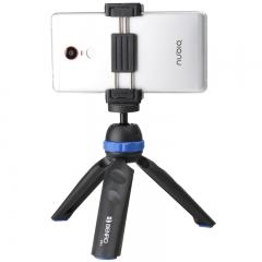 百诺(Benro)PP1 单反微单相机迷你三脚架 桌面便携竖拍含手机夹