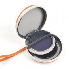 耐司(NiSi)圆形滤镜包 圆形UV镜 偏振镜 渐变镜 减光镜 收纳包(浅棕色)