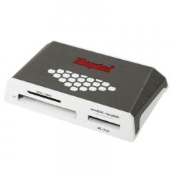 金士顿(kingston)USB 3.0 High-Speed Media Reader 多功能读卡器(FCR-HS4)