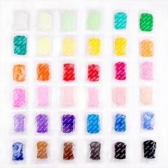 得力(deli)6453 魔趣轻型粘土/彩泥套装 3d彩泥DIY 36色装