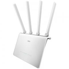 360安全路由P4 全千兆光纤宽带穿墙王无线路由器 智能wifi 5 千兆网口 5G 双频11AC1200M 高速路由