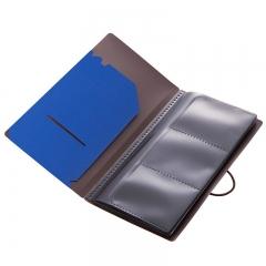 齐心(Comix) A7623 多功能旅行册/收纳袋 蓝色 Germini系列