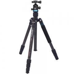 百诺(Benro)三脚架 IF28C+ 单反三脚架云台佳能尼康相机 超强碳纤维 反折 可转独脚架