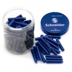 施耐德(Schneider)钢笔墨囊德国进口墨水胆欧标钢笔适用 纯蓝色100支装6803