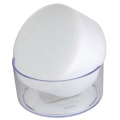 齐心(COMIX)点钞湿手器/海绵缸 透明 办公文具B2098