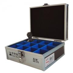 现货隔日达 办公、财政、行政用品亚信375印章箱 12格手提私印收纳盒 隔板可拔抽自由组合 货号002.XH