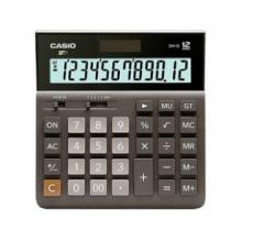 现货隔日达 办公、财政、行政用品卡西欧计算器DH-12宽办公计算机桌面太阳能办公商务12位货号002.XH