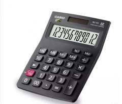 现货隔日达 办公、财政、行政用品卡西欧MX-12S太阳能计算器财务 货号002.XH