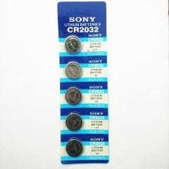 现货隔日达 办公、财政、行政用品SONY索尼CR2032纽扣电池3v(20个1盒,1盒起售)货号002.XH
