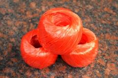 现货隔日达  尼龙草绳塑料绳子捆扎绳打包绳捆绑撕裂带 大(20个/包)货号002.XH